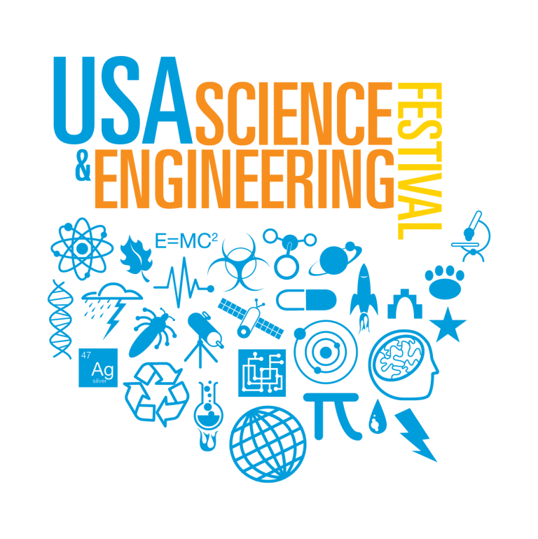 Volunteer Shapiro on April 16 and 17 STEM Expo in DC